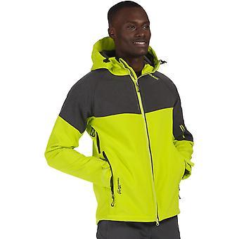 Regatta Mens Hewitts III Durable Windproof Hooded Softshell Jacket