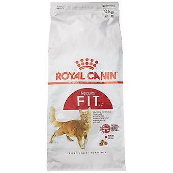 Royal Canin Fit 32 aliments pour chats, mélange sec, 2kg