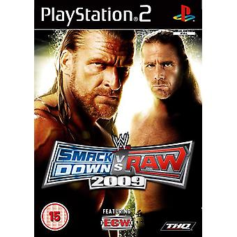 WWE SmackDown vs. Raw 2009 (PS2) - New Factory Sealed