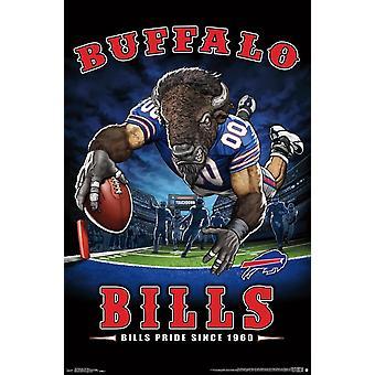 Buffalo Bills - End Zone Poster Print