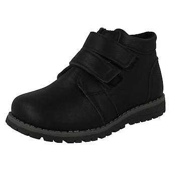 Boys JCDees Double Strap Ankle Boots N2041