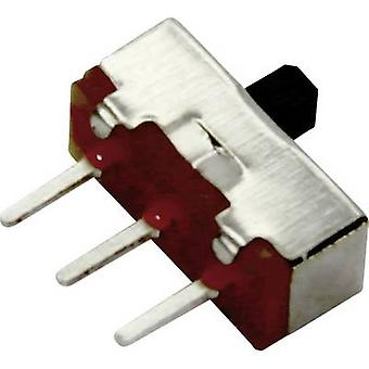 Sol Expert SUM4 Micro slide switch with enclosure (L x W x H) 3.7 x 8.6 x 4 mm