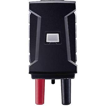 testo 0590 0021 Test lead adapter Mini T socket - 4 mm plug Scoop-proof Black