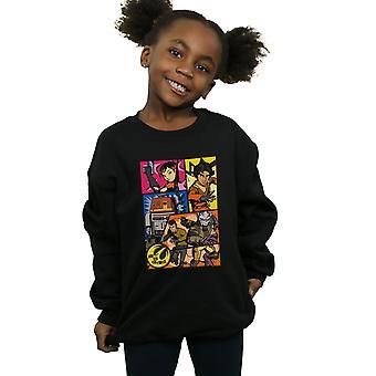 Star Wars Girls Rebels Comic Strip Sweatshirt