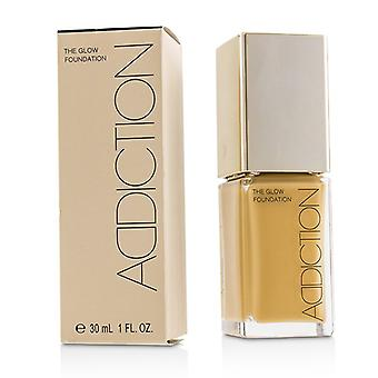 Addiction The Glow Foundation Spf 20 - # 011 (warm Sand) - 30ml/1oz