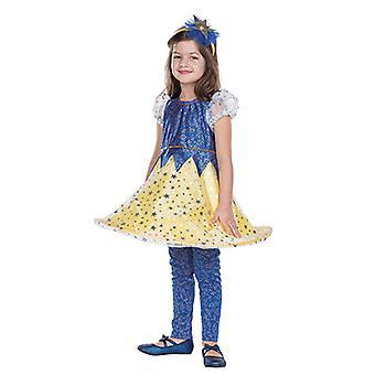 Sternchen Sternenkleid Kostüm für Mädchen Sterntaler