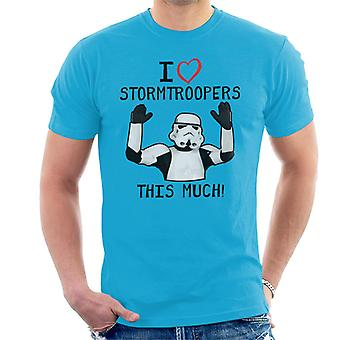 Original Stormtrooper ich liebe Troopers das viel Männer T-Shirt