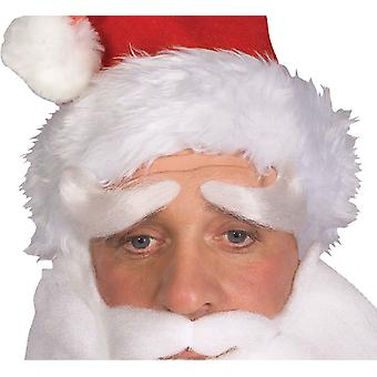 Santa Claus Saint Nicholas Kris Kringle Father Christmas Mens Costume Eyebrows