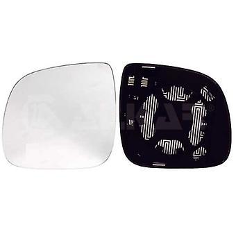 Vidrio espejo de pasajeros izquierdo (calentado) y titular para Volkswagen TOUAREG 2007-2010