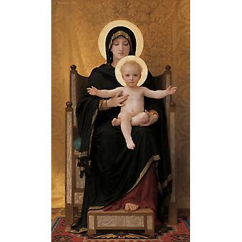 Virgen ADN Niño, Adolphe William Bouguereau, 60x40cm