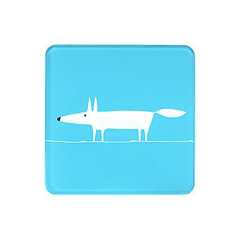 Scion Mr Fox Teal Hot Pot Stand