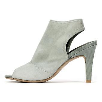 Rialto Womens Reanne stof Peep Toe Casual Slingback sandalen