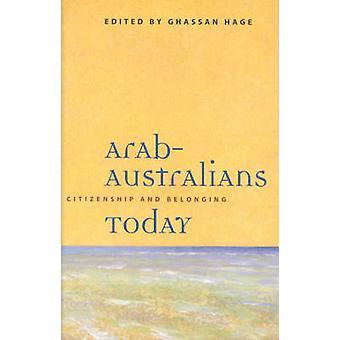 Arabiska-australier idag - medborgarskap och tillhörighet av Ghassan Hage - 9