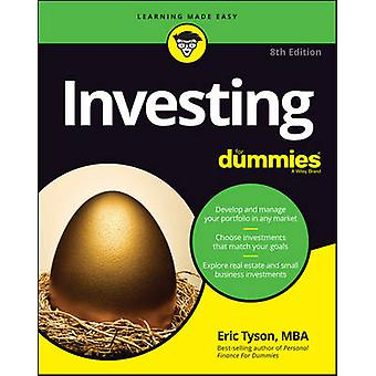 Investing For Dummies by Eric Tyson - 9781119320692 Book