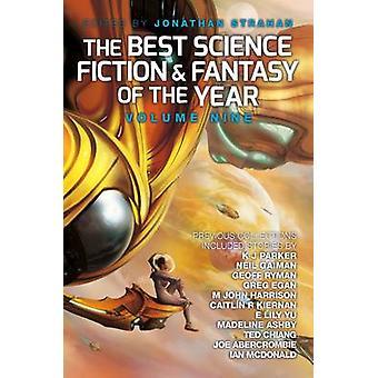 Bästa Science Fiction och Fantasy av året - volym 9 av Jonatha