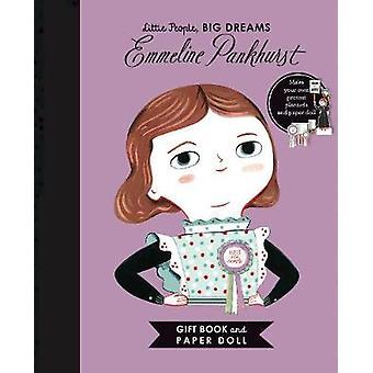 Little People - STORA DRÖMMAR - Emmeline Pankhurst Bok och papper Doll Gi