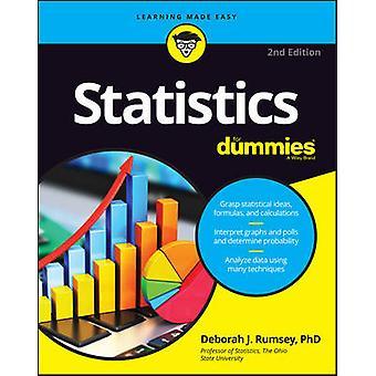 Statistics For Dummies (2e édition révisée) par Deborah J. Rumsey - 9