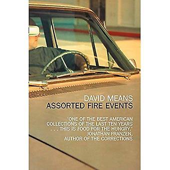 Blandade brand händelser: berättelser