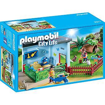 Playmobil 9277 ville vie Pet Hotel petit Animal Boarding
