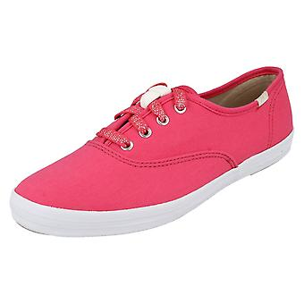 Ladies Keds Canvas Shoes Champ Oxford
