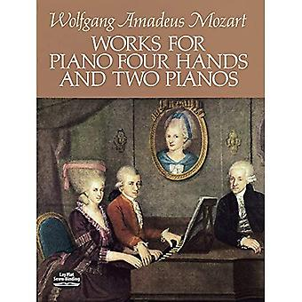 Works for Piano Four Hands and Two Pianos: (Sheet Music)
