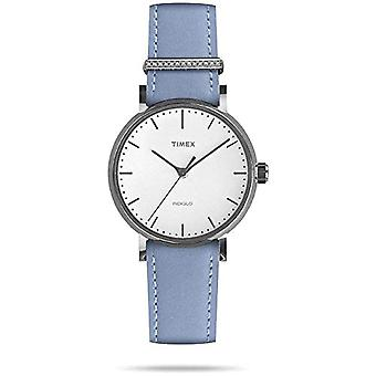 Timex Analog kvarts damer ur med skinn TW2R70300VQ