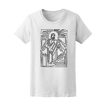 キリスト教イエス復活 t シャツ メンズ-シャッターによる画像