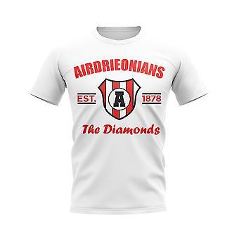 Bellshill établi Football T-Shirt (White)