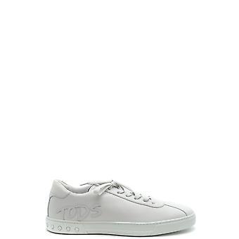 Tod's Ezbc025063 Men's White Leather Sneakers