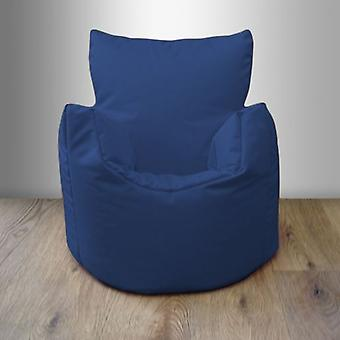 Pjokk vannbestandig Bean Bag Chair-blå