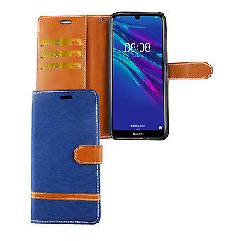 Huawei Y6 2019 Téléphone Cas de protection Cas de couverture Cas De poche Portefeuille Portefeuille