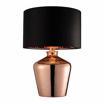 Lampa stołowa Szkło miedziane