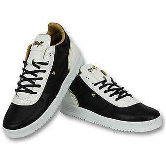 Shoes Online - Sneaker Luxury Black White - Black