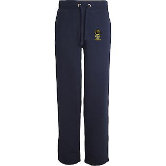 Royal Munster Fusiliers Veteran - Licensed British Army Embroidered Open Hem Sweatpants / Jogging Bottoms