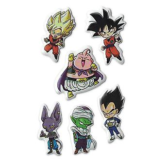 Sticker - Dragon Ball Super - SD Group Puffy Set Licensed ge55635