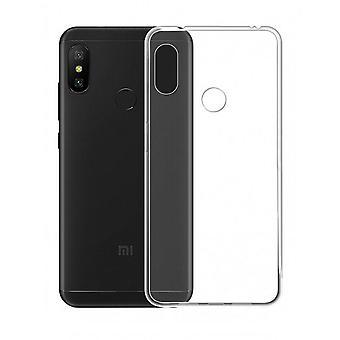 CoolSkin3T TPU taske til Xiaomi Redmi Bemærk 6 Pro Transparent hvid