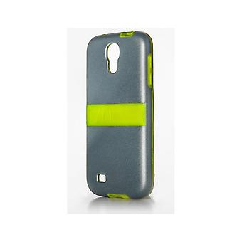 TYLT Band Case for Samsung Galaxy S4 - Gray / Lime
