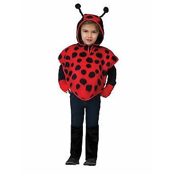 Costume per bambini Ladybug Poncho Beetle Costume Bambini Carnevale Animale Costume Animale