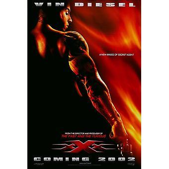 xXx (Avanzamento fronte fronte doppio lato) (Uv rivestito/High Gloss) Poster originale cinema