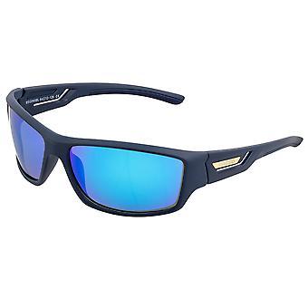 Breed Aquarius Polarized Sunglasses - Navy/Blue