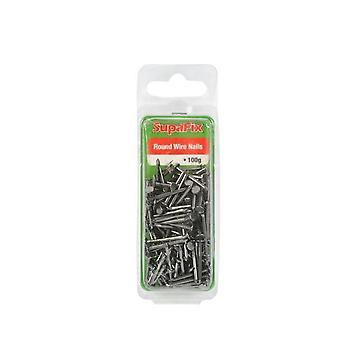 SupaFix Round Wire Nails (100g/3.5oz)