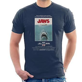 Jaws Movie Poster Men's T-Shirt