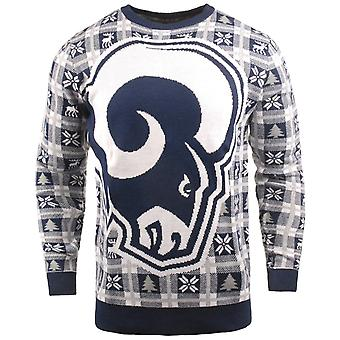 NFL Ugly Sweater XMAS Knit Sweater - Los Angeles Rams