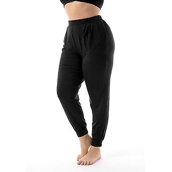 Womens Plus Size Lounge Pants Casual Soft Relaxed and Stretchy Sweatpants Pajamas