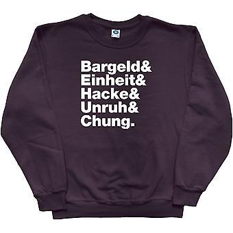 Einsturzende Neubauten Line-Up Black Sweatshirt