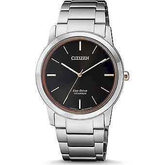 Citizen eco-drive mens watch Super titanium FE7024-84E
