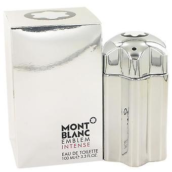 Montblanc emblem intenso eau de toilette spray por mont blanc 525965 100 ml