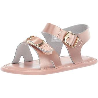 Baby Deer Baby Girl's Classic Leather Sandal - Waddle (Infant)