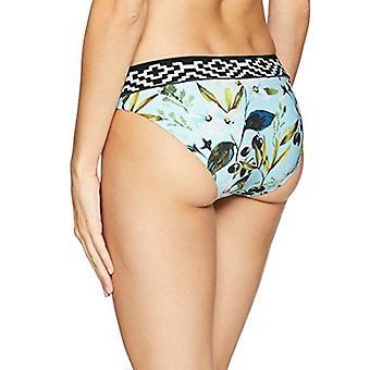 La Blanca Women's Banded Hipster Bikini Swimsuit Bottom,, Black, Size 4.0