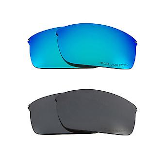 Polarized Replacement Lenses for Oakley Wiretap Sunglasses Anti-Scratch Anti-Glare UV400 by SeekOptics